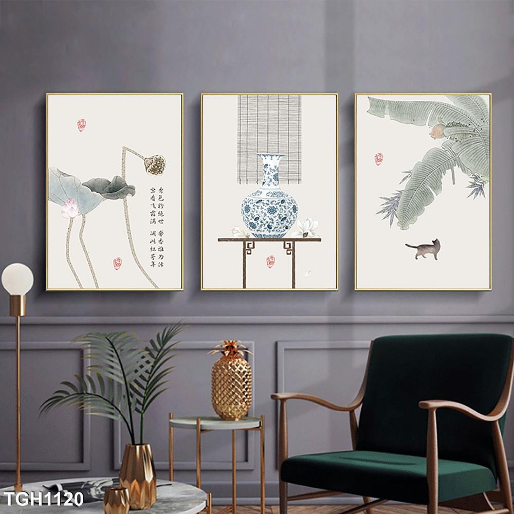 Set 3 Canvas Arts for Living room - TGH1120
