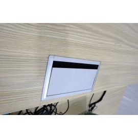Hộp điện âm bàn 220x120
