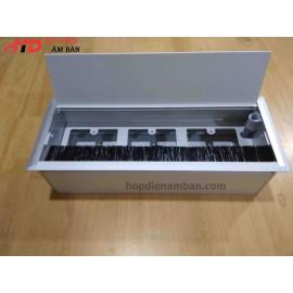 Hộp điện âm bàn 300x120