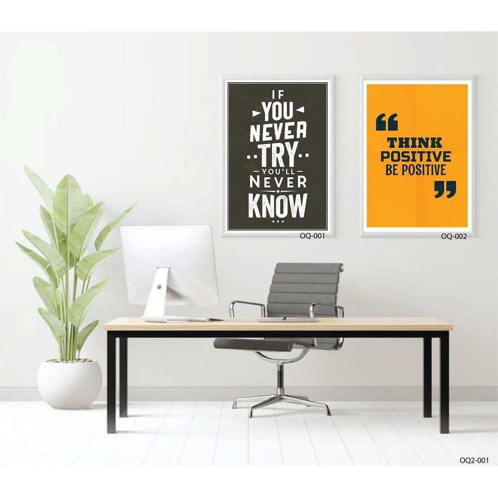 SET 2 Office quote print - OQ2-001