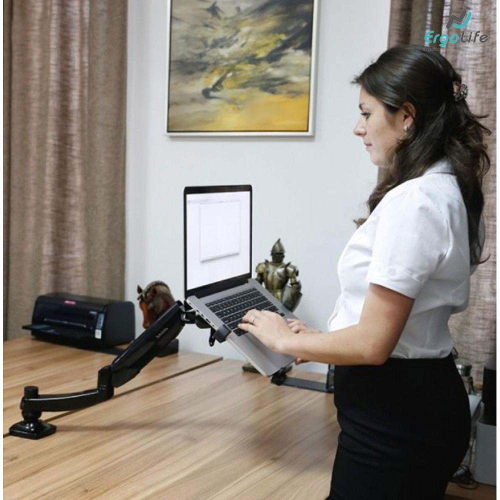 Ergonomic laptop arm DLB504