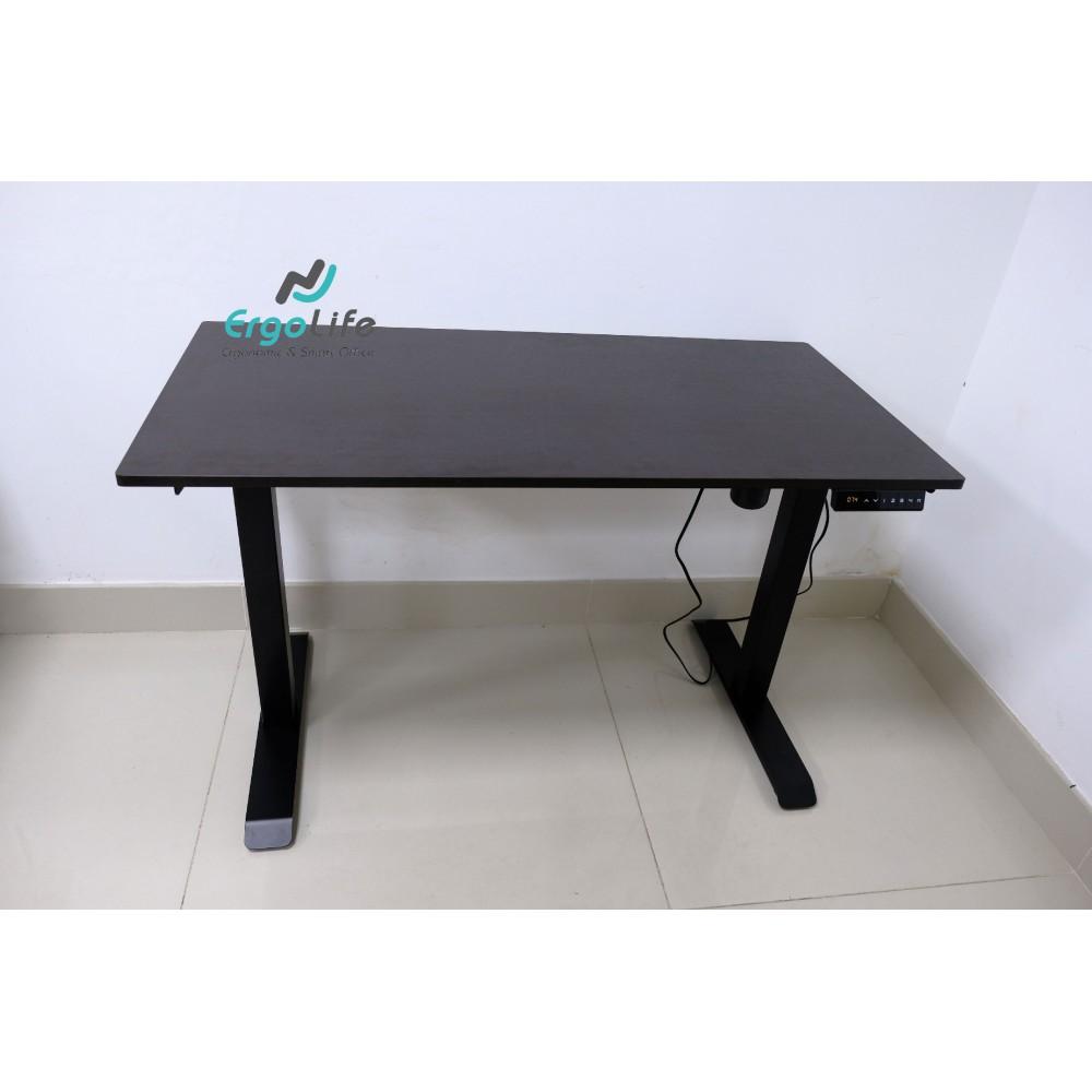 Bộ chân bàn làm việc đứng Ergonomic ERD-1210B (Nâu đen)