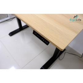 Bộ chân bàn làm việc đứng Ergonomic ERD-1210B (Vàng)