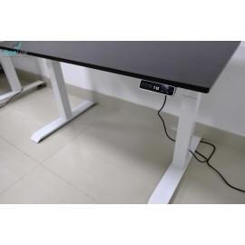 Bộ bàn làm việc đứng Ergonomic ERD-2300 (700x1400mm_Nâu đen)