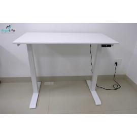 Bộ bàn làm việc đứng Ergonomic ERD-2300 (600x1200mm_Trắng)