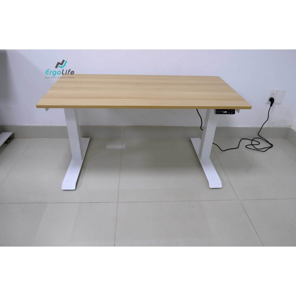 Bộ bàn làm việc đứng Ergonomic ERD-2300 (700x1400mm_Vàng)