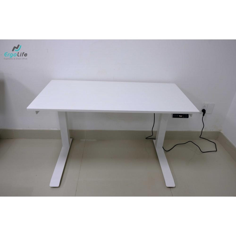 Bộ bàn làm việc đứng Ergonomic ERD-2300BZ (600x1200- Trắng)