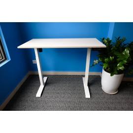 Bộ bàn làm việc đứng Ergonomic ERD_2300 (600x1.200mm_White-Acacia)