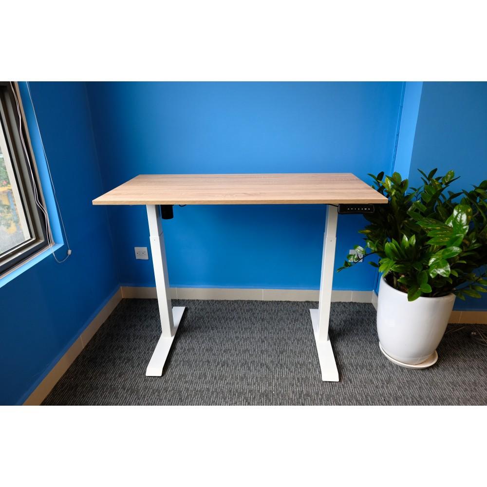 Bộ bàn làm việc đứng Ergonomic ERD_2300 (600x1.200mm_Yellow-Oak)